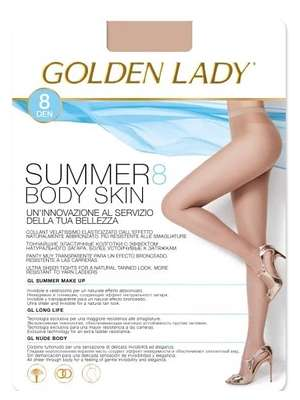c335a741d2e Rajstopy Golden Lady Summer Body Skin 8 den 2-4